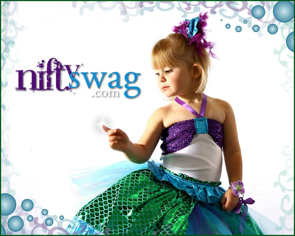 Boutique Mermaid Princess Costume